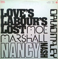 Nancy Nash, Moe Marshall, David McLey - Love's Labour's Lost