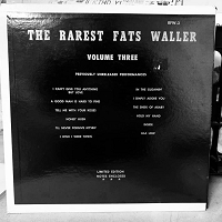 Fats Waller – The Rarest Fats Waller Vol 3